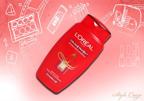 loreal color protect shampoo