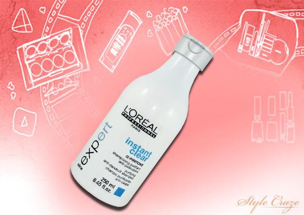 loreal instant clear anti dandruff shampoo