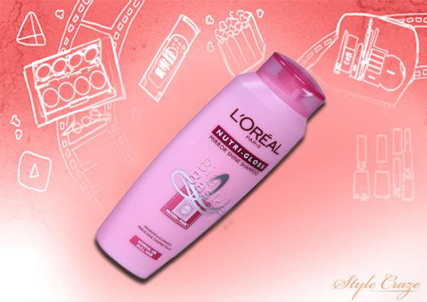 loreal nutri gloss mirror shine shampoo