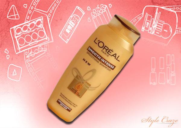 loreal paris smooth intense smoothing shampoo