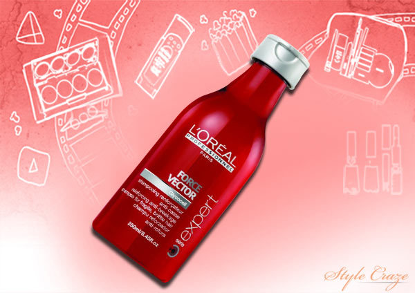 loreal professional serie expert force vector shampoo