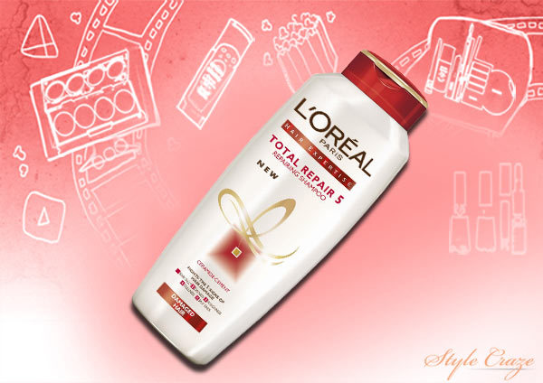 loreal total repair 5 shampoo