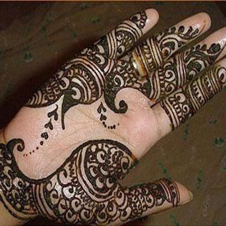mehndi designs for hands arabic simple