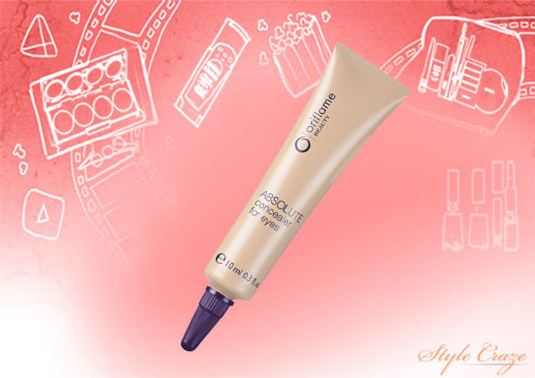 oriflame beauty absolute concealer for eyes