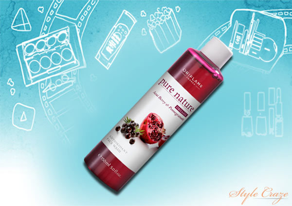 oriflame pure nature face wash
