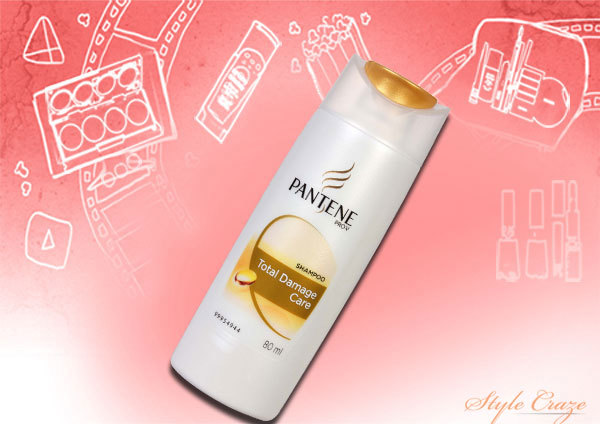 pantene total damage care shampoo