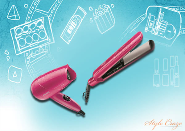 philips hp8643 miss freshers pack hair straightener