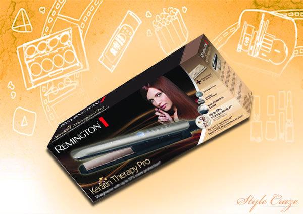 Remington Hair Straighteners - remington s8590 e51 keratin therapy pro hair straightener