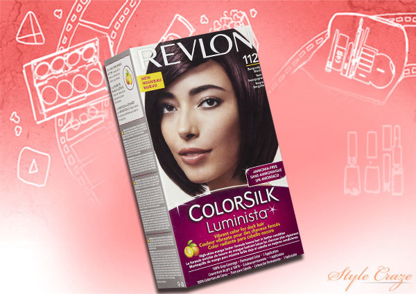revlon colorsilk luminista burgundy black