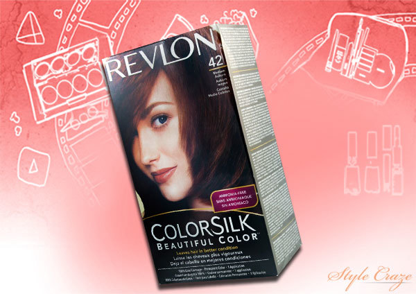 revlon colorsilk medium auburn