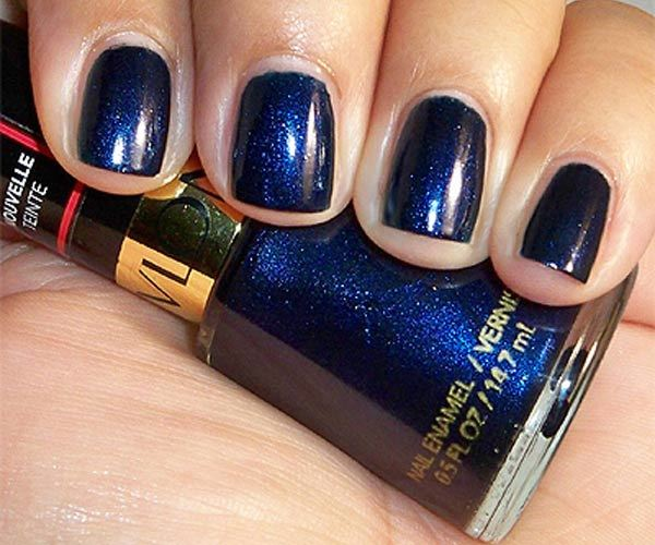 revlon nail polish midnight affair