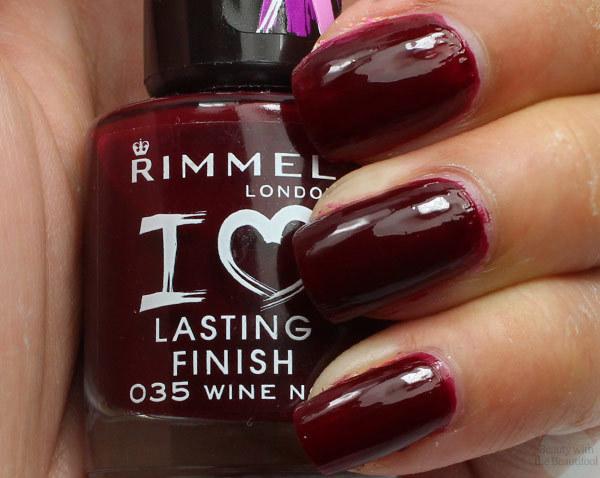 Rimmel London Nail Polish In Wine Not