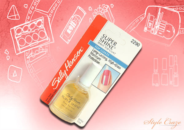 sally hansen super shine