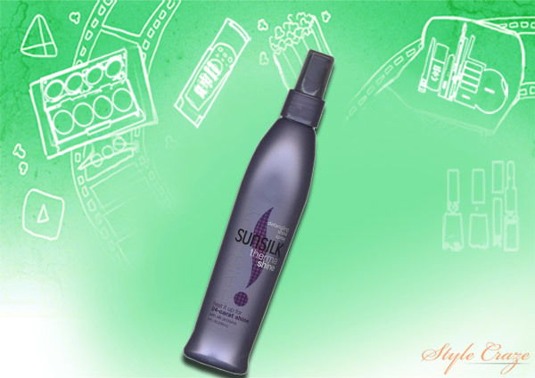 sunsilk thermashine detangling shine spray