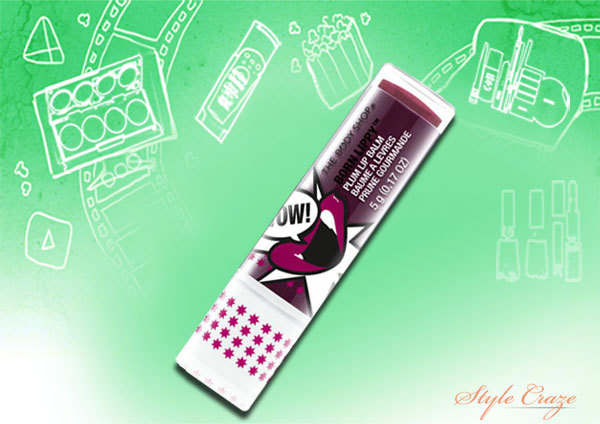the body shop born lippy stick lip balm