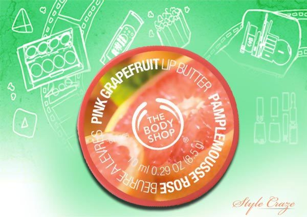 the body shop grapefruit lip butter