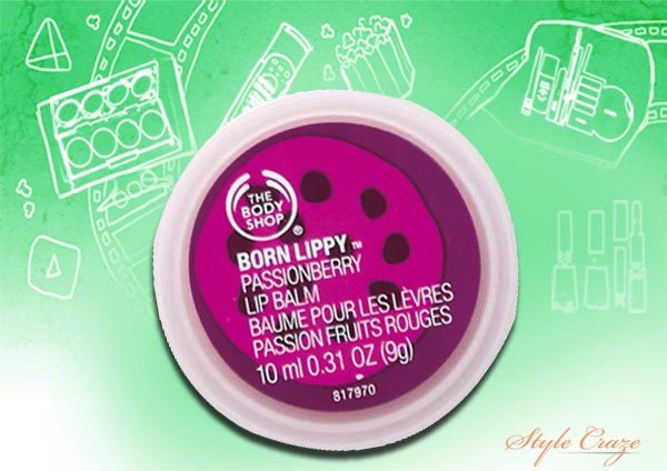 the body shop passion berry lip balm