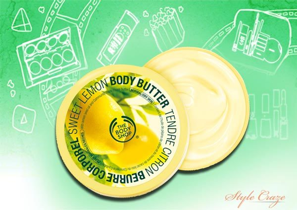 the body shop sweet lemon lip butter