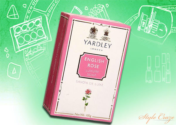 yardley english rose soap