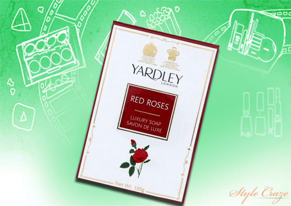 yardley red roses soap