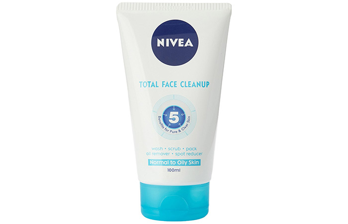 Nivea Total Face Cleanup - Nivea Face Wash