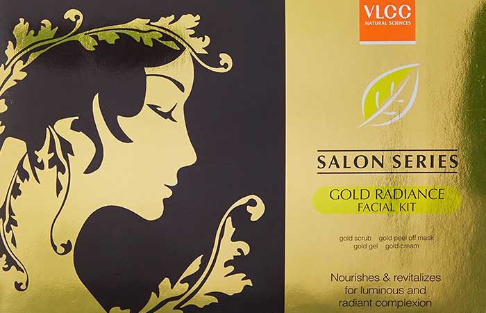 1. VLCC Gold Facial Kit