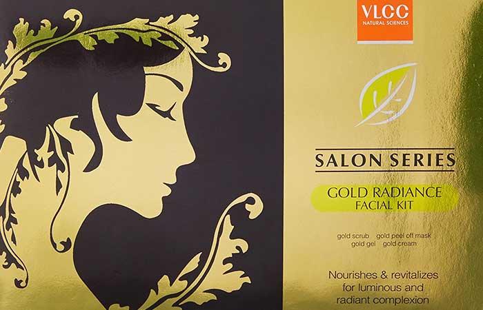1. VLCC Gold Facial Kit