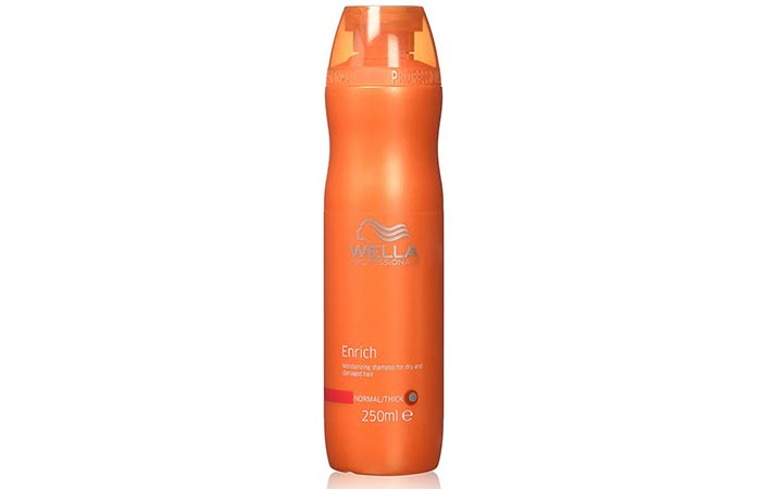 Wella Shampoos - Wella Enrich Moisturizing Shampoo For Dry And Damaged Hair