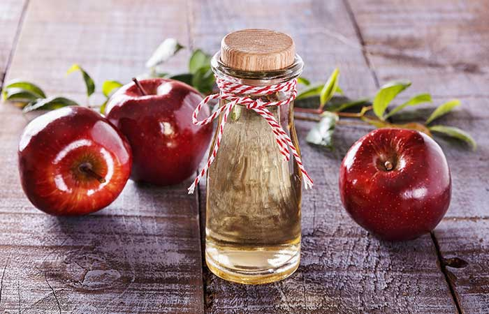 10. Apple Cider Vinegar And Onion Juice