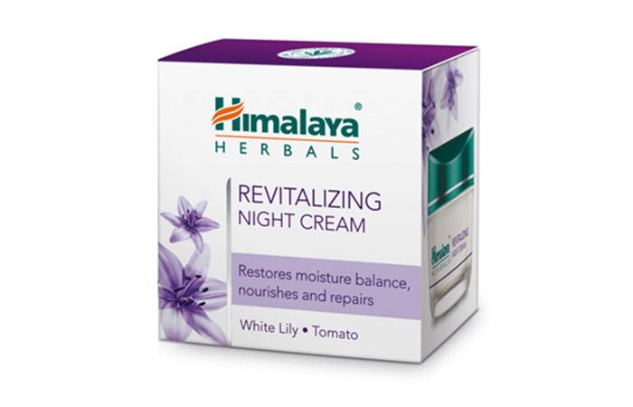 10. Himalaya Revitalizing Night Cream