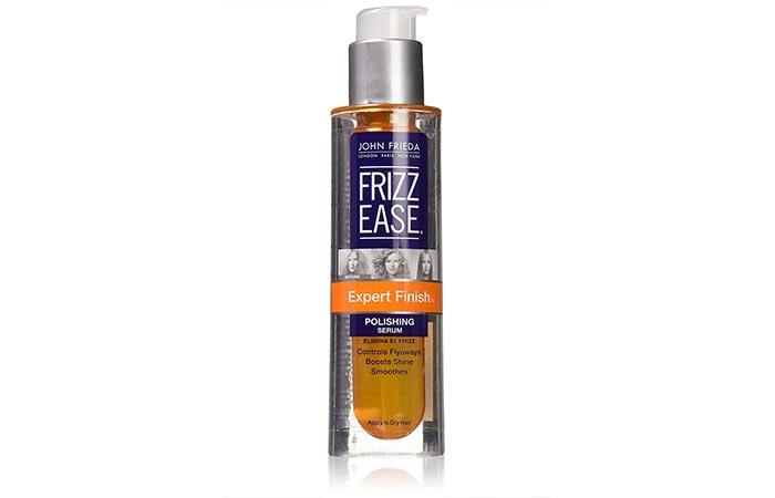 10. John Frieda Frizz Ease Perfect Finish Polishing Serum