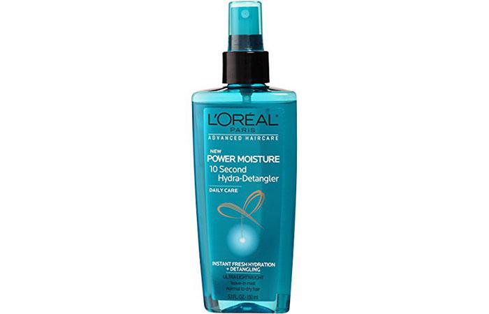 10. L'Oréal Paris Advanced Haircare Power Moisture 10 Second Hydra-Detangler