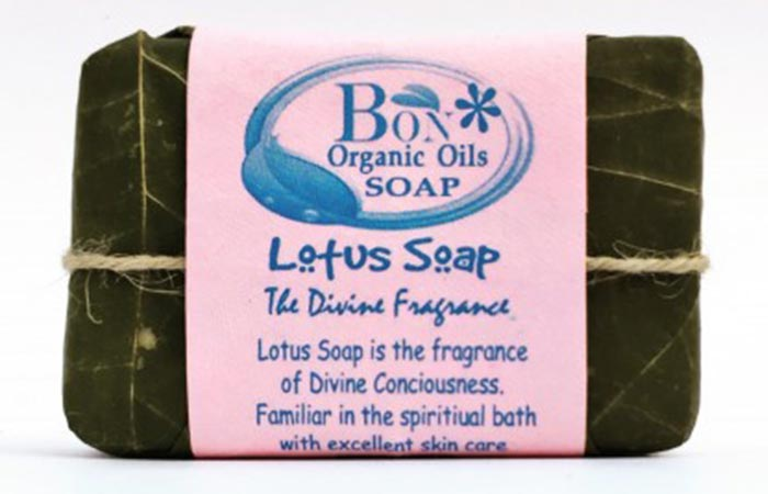 10.Bon Lotus Handmade Soap