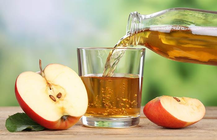 11. Apple Juice And Onion Juice