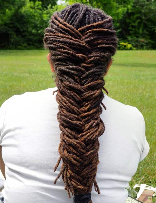 11. Dreadlocks Fishtail