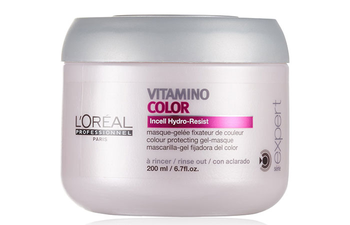 12. L'Oreal Serie Expert Vitamino Color Masque