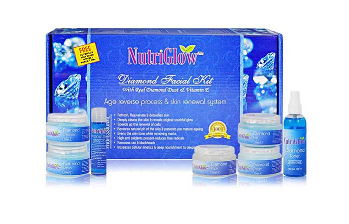 12. Nutriglow Facial Kit