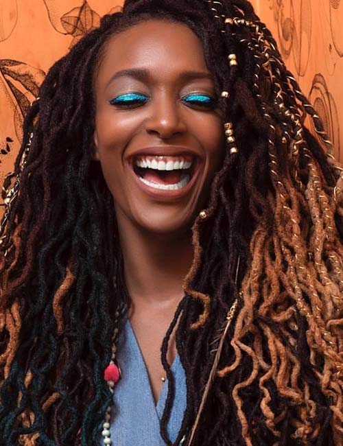 12. Ombre Dreadlocks