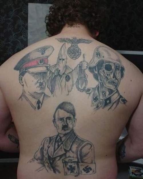 13. Racist Tattoos