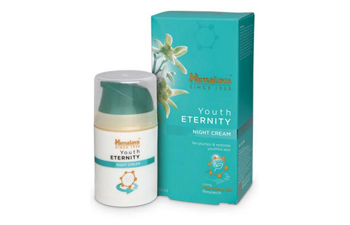 13. Himalaya Youth Eternity Night Cream