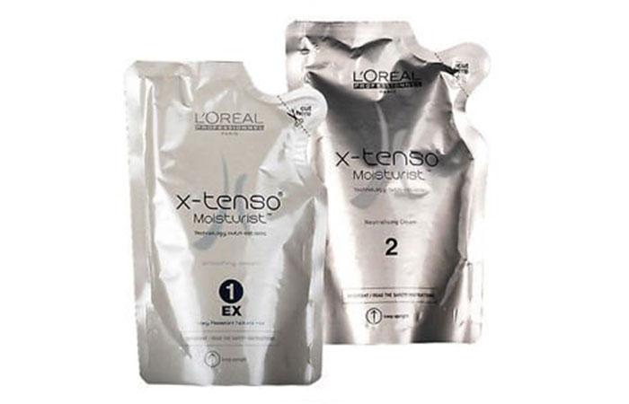 13. L'Oreal X-tenso Straightener Cream