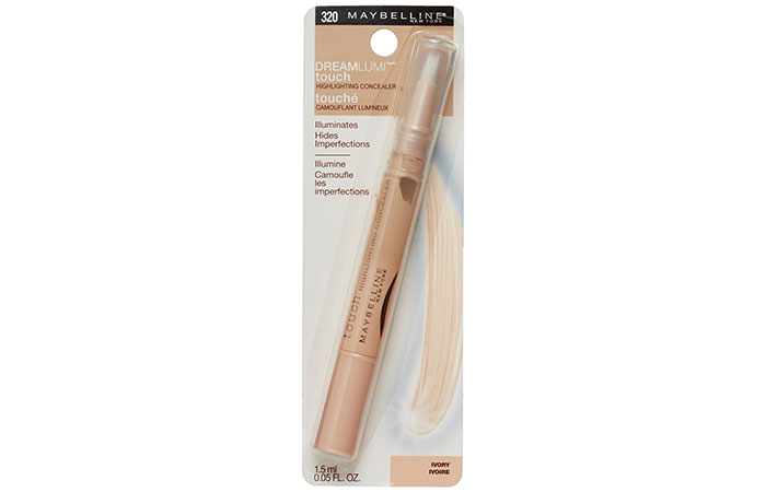 13. Maybelline New York Dream Lumi Touch Concealer - Best Concealer For Indian Women