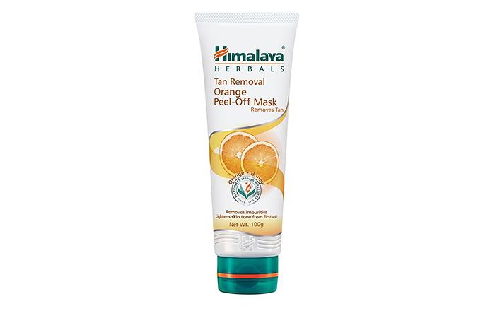 14. Himalaya Orange Peel Off Mask-Tan Removal