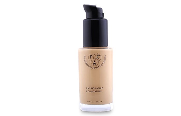 PAC HD Liquid Foundation