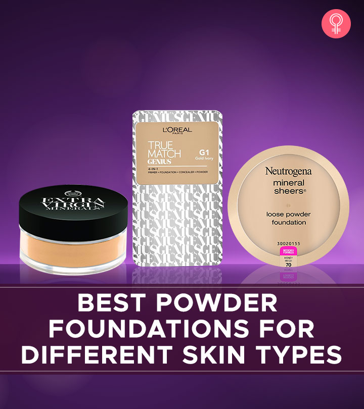 15 Best Powder Foundations For Different Skin Types