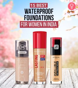 15 Best Waterproof Foundations For Women In India – 2021 Update