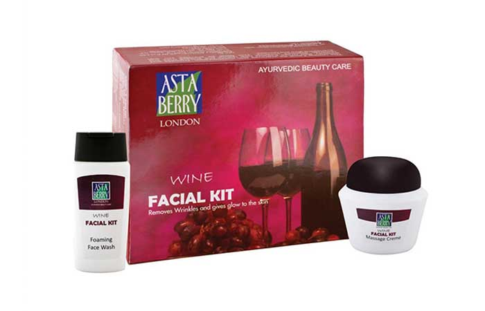 15. Astaberry Wine Facial Kit
