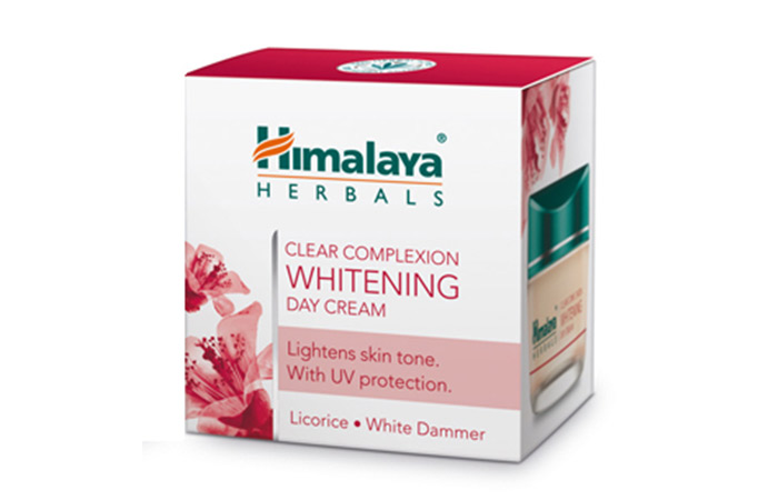 15. Himalaya Clear Complexion Whitening Day Cream