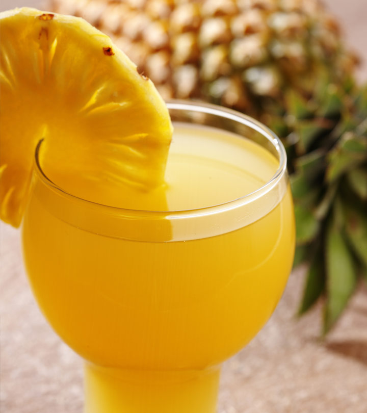 Top 10 Benefits and Uses Of Pineapple Juice For Skin, Hair and Health