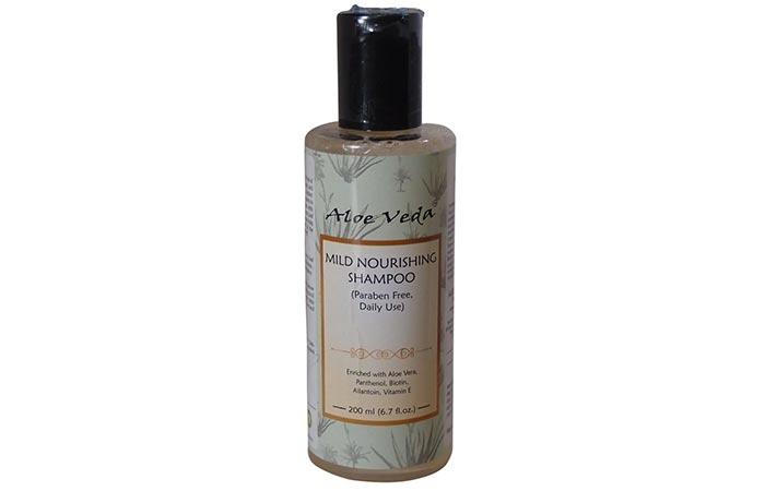 2. Aloe Veda Mild Nourishing Shampoo